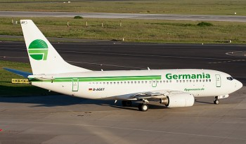 Germania Boeing 737-75B