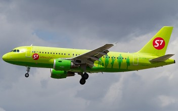 S7 Airlines Airbus A319-100
